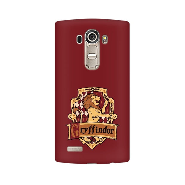 LG G4 Gryffindor House Crest Harry Potter Phone Cover & Case