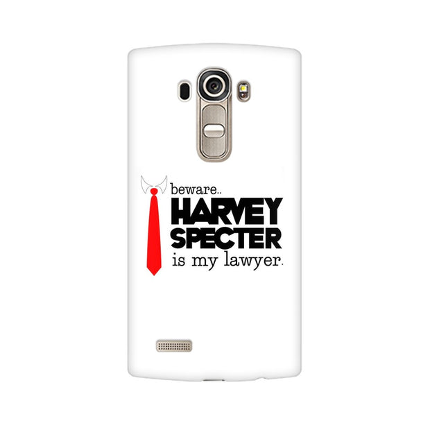 LG G4 Harvey Spectre Is My Lawyer Suits Phone Cover & Case
