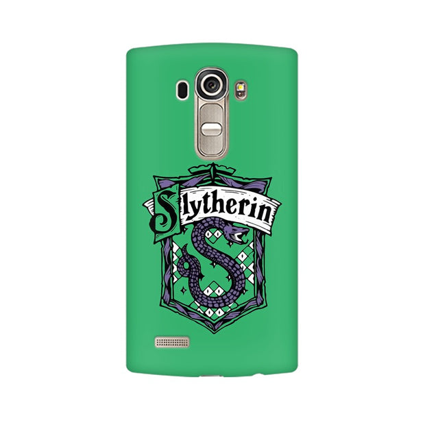 LG G4 Slytherin House Crest Harry Potter Phone Cover & Case
