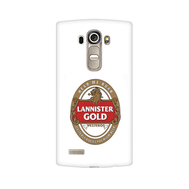 LG G4 Lannister Gold Game Of Thrones Cool Phone Cover & Case