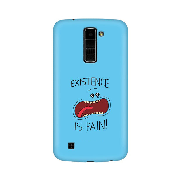 LG K10 Existence Is Pain Mr Meeseeks Rick & Morty Phone Cover & Case