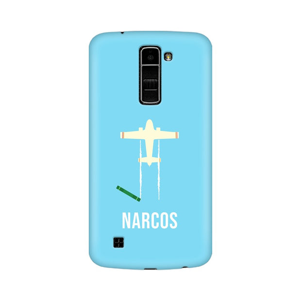 LG K10 Narcos TV Series  Minimal Fan Art Phone Cover & Case