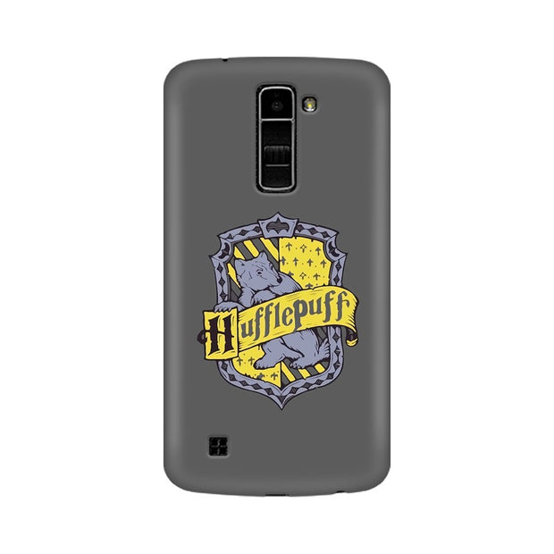 LG K10 Hufflepuff House Crest Harry Potter Phone Cover & Case