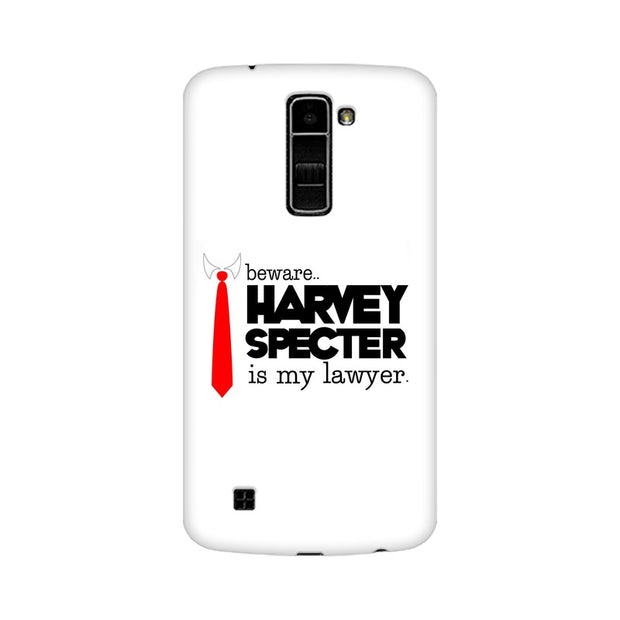 LG K10 Harvey Spectre Is My Lawyer Suits Phone Cover & Case