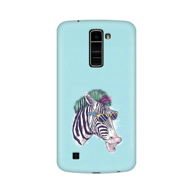 LG K7 The Zebra Style Cool Phone Cover & Case