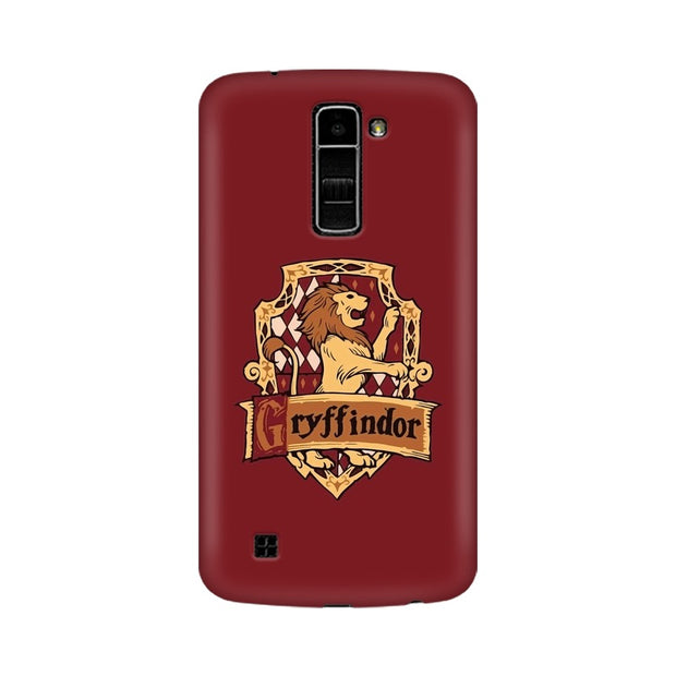 LG K7 Gryffindor House Crest Harry Potter Phone Cover & Case