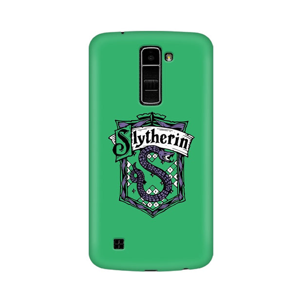 LG K7 Slytherin House Crest Harry Potter Phone Cover & Case