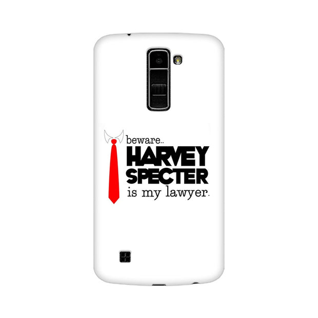 LG K7 Harvey Spectre Is My Lawyer Suits Phone Cover & Case