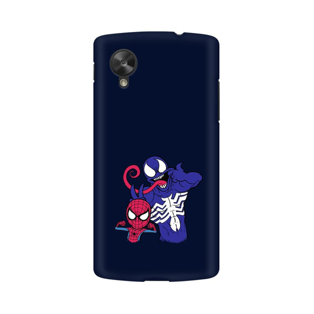 LG Nexus 5 Spider Man & Venom Funny Phone Cover & Case