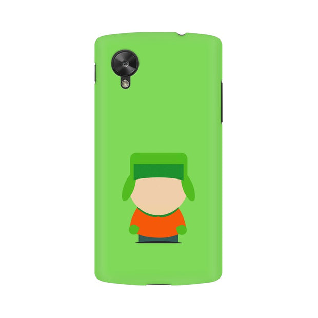 LG Nexus 5 Kyle Broflovski Minimal South Park Phone Cover & Case