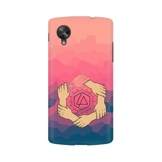 LG Nexus 5 Linkin Park Logo Chester Tribute Phone Cover & Case