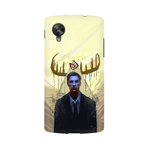 LG Nexus 5 True Detective Rustin Fan Art Phone Cover & Case