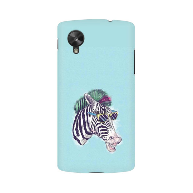 LG Nexus 5 The Zebra Style Cool Phone Cover & Case