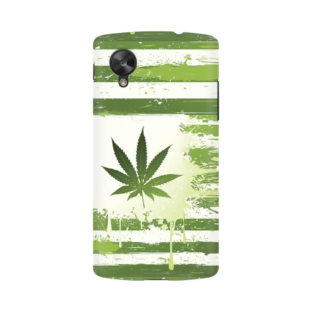 LG Nexus 5 Weed Flag  Phone Cover & Case
