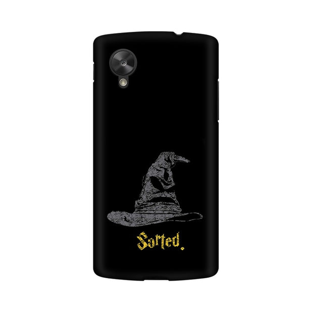 LG Nexus 5 Sorting Hat Harry Potter Phone Cover & Case