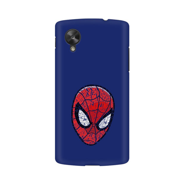 LG Nexus 5 Spider Man Graphic Fan Art Phone Cover & Case