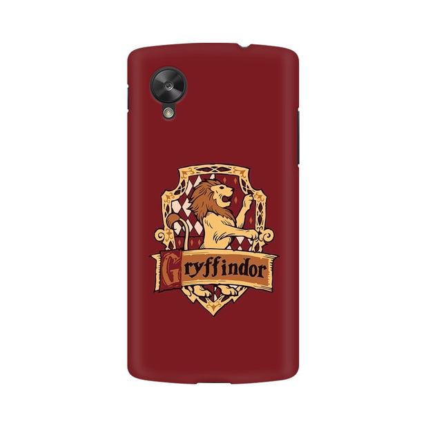 LG Nexus 5 Gryffindor House Crest Harry Potter Phone Cover & Case