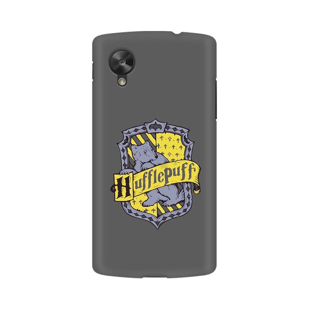 LG Nexus 5 Hufflepuff House Crest Harry Potter Phone Cover & Case