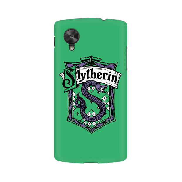 LG Nexus 5 Slytherin House Crest Harry Potter Phone Cover & Case