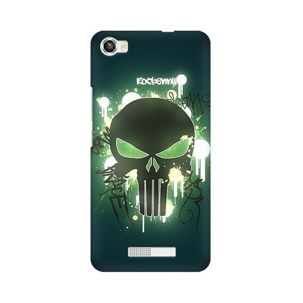 Lava Iris X8 Angry Skull Phone Cover & Case