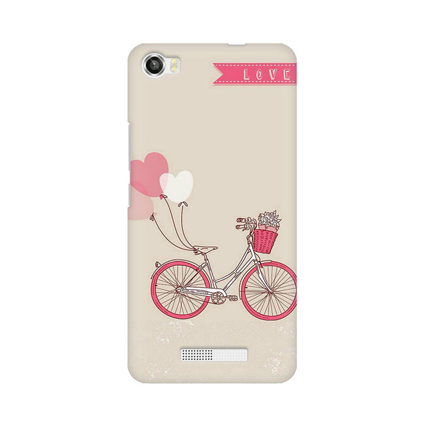 Lava Iris X8 Bicycle Love Phone Cover & Case