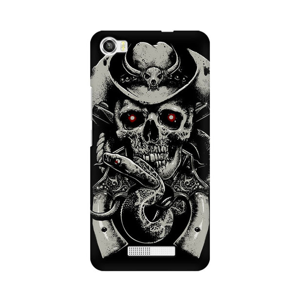 Lava Iris X8 Skull Fear Phone Cover & Case