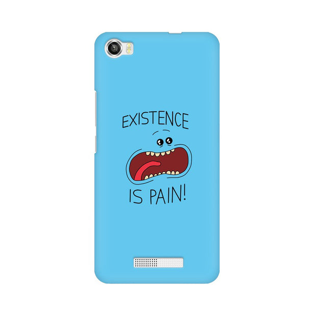 Lava Iris X8 Existence Is Pain Mr Meeseeks Rick & Morty Phone Cover & Case