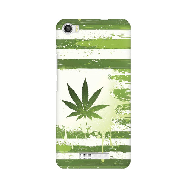Lava Iris X8 Weed Flag  Phone Cover & Case