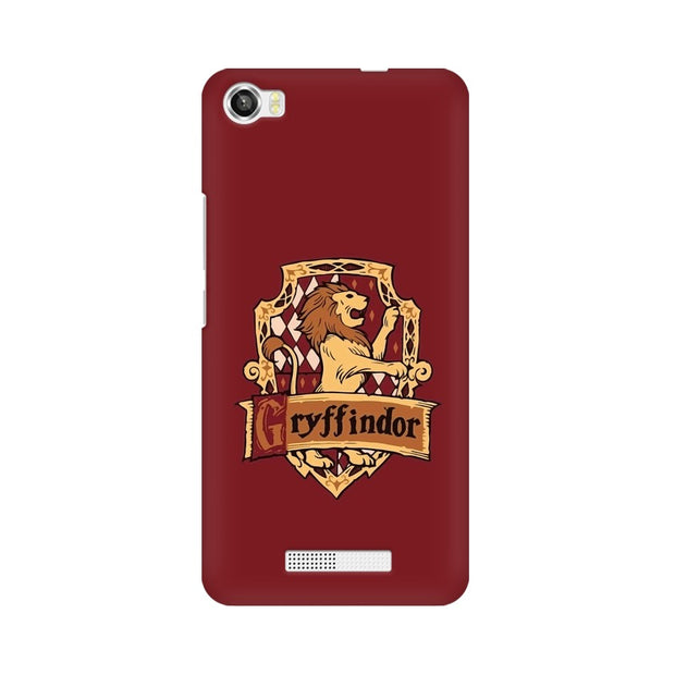 Lava Iris X8 Gryffindor House Crest Harry Potter Phone Cover & Case