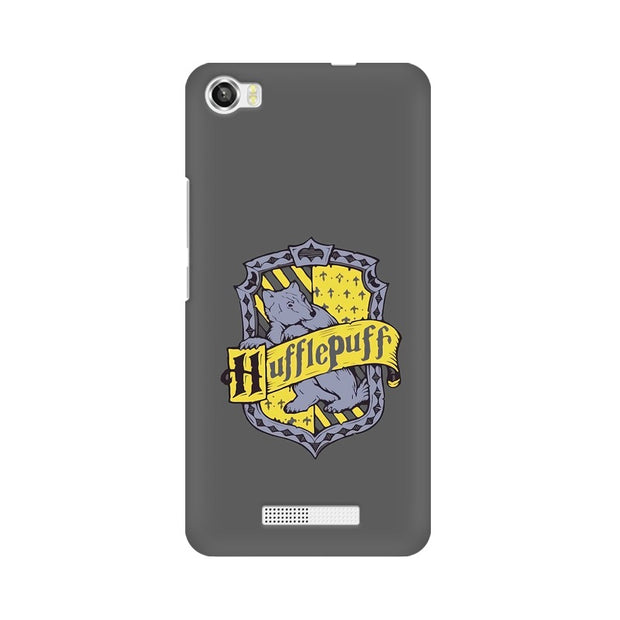 Lava Iris X8 Hufflepuff House Crest Harry Potter Phone Cover & Case