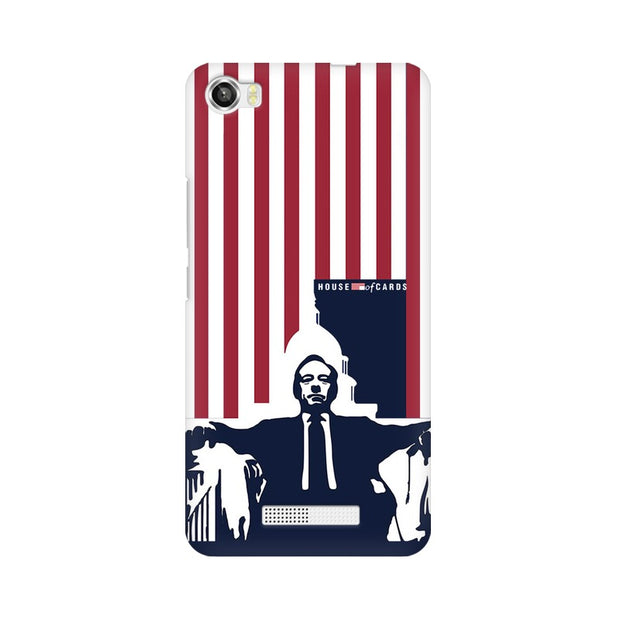Lava Iris X8 House Of Cards Underwood On Chair Phone Cover & Case