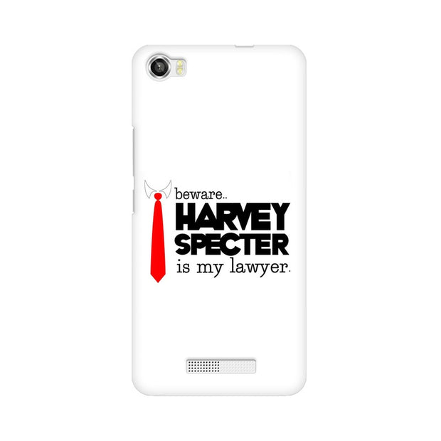 Lava Iris X8 Harvey Spectre Is My Lawyer Suits Phone Cover & Case