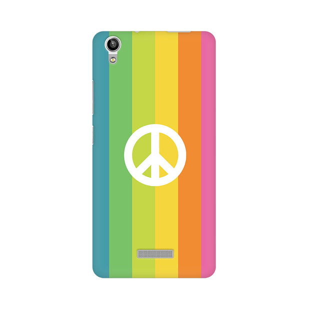 Lava Pixel V1 Colorful Peace Phone Cover & Case