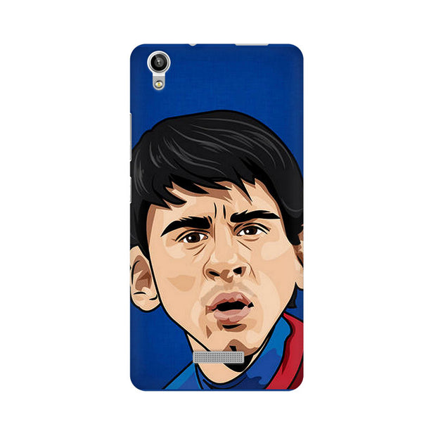 Lava Pixel V1 Messi Cartoon Phone Cover & Case