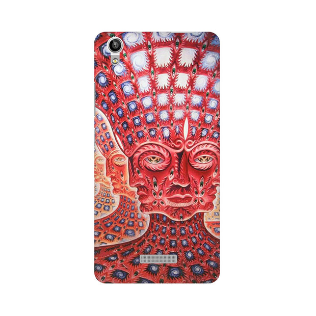 Lava Pixel V1 Psychedelic Faces Phone Cover & Case