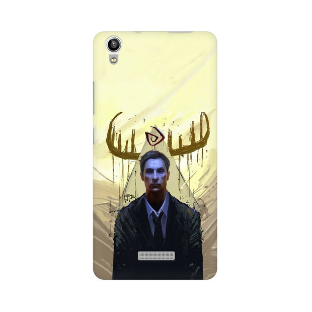 Lava Pixel V1 True Detective Rustin Fan Art Phone Cover & Case