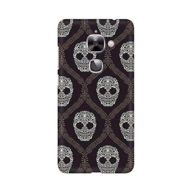 LeEco Le 2 Floral Skull 2 Phone Cover & Case