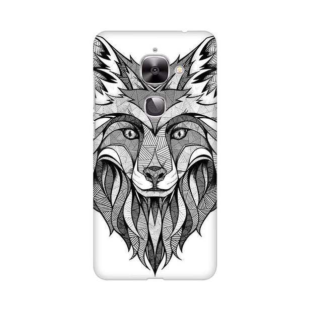 LeEco Le 2 Line Art Wolf Phone Cover & Case