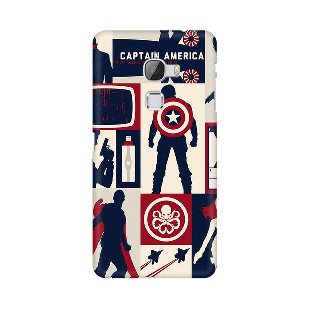 LeEco Le Max Captain America Collage Phone Cover & Case