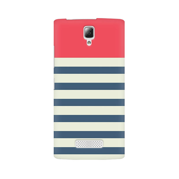 Lenovo A2010 Stripes Pink Phone Cover & Case