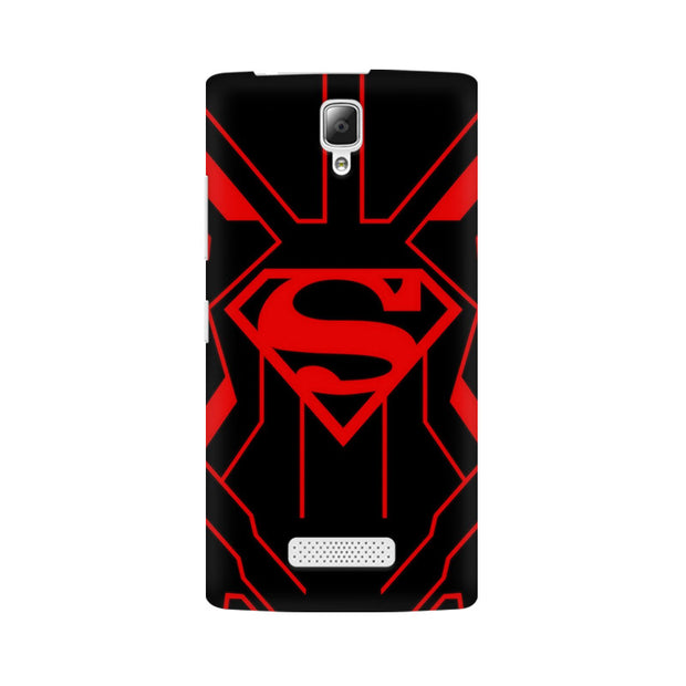 Lenovo A2010 Superman Red Phone Cover & Case