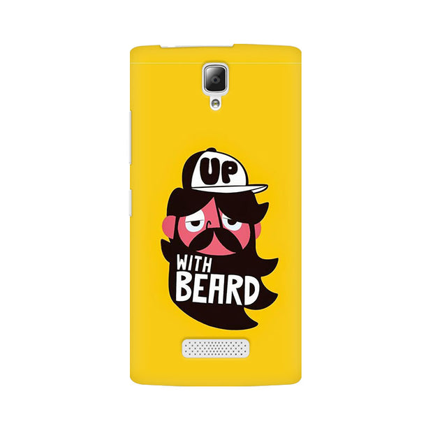 Lenovo A2010 Up With Beard Phone Cover & Case