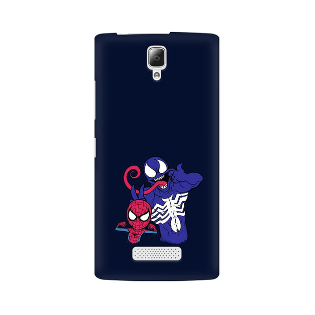 Lenovo A2010 Spider Man & Venom Funny Phone Cover & Case