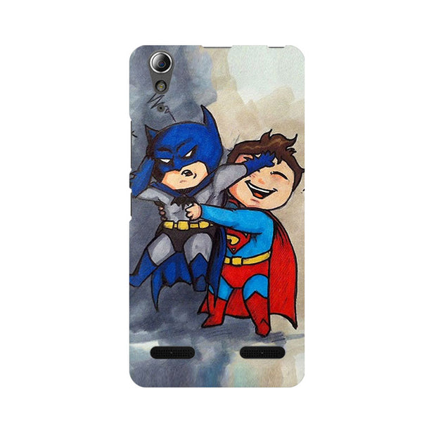 Lenovo A6000 Batman And Superman Kids Phone Cover & Case