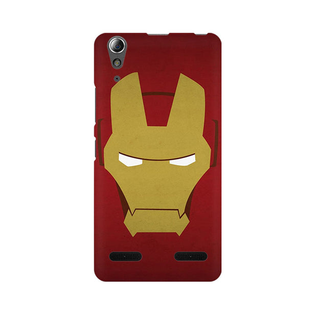 Lenovo A6000 Iron Man Minimalist Phone Cover & Case