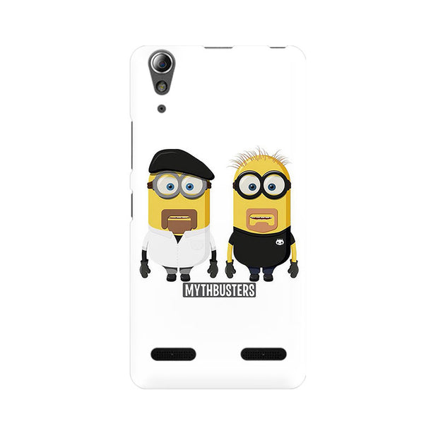 Lenovo A6000 Minion Mythbusters Phone Cover & Case