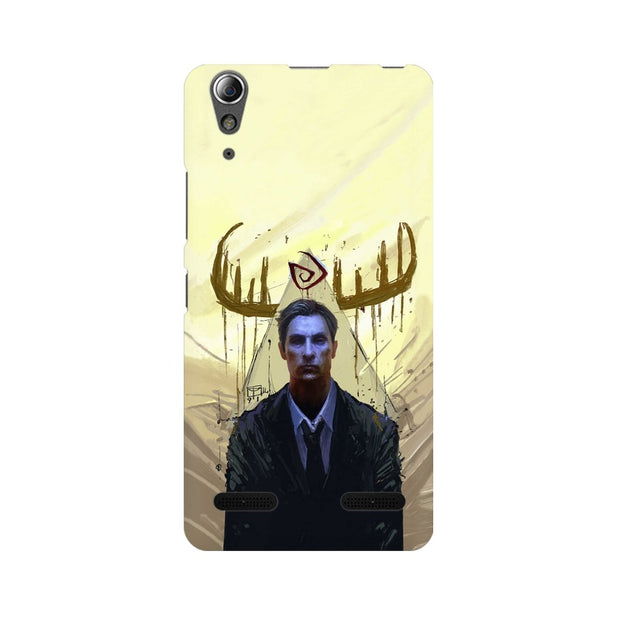 Lenovo A6000 Plus True Detective Rustin Fan Art Phone Cover & Case