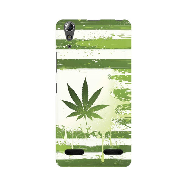 Lenovo A6000 Plus Weed Flag  Phone Cover & Case