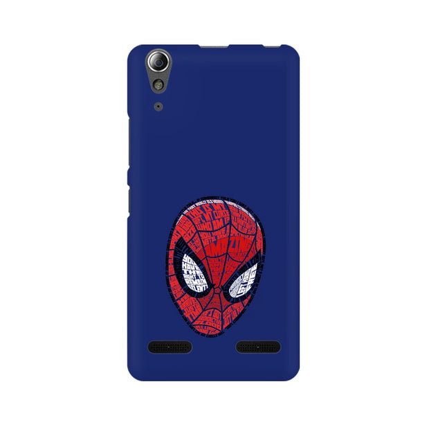 Lenovo A6000 Plus Spider Man Graphic Fan Art Phone Cover & Case