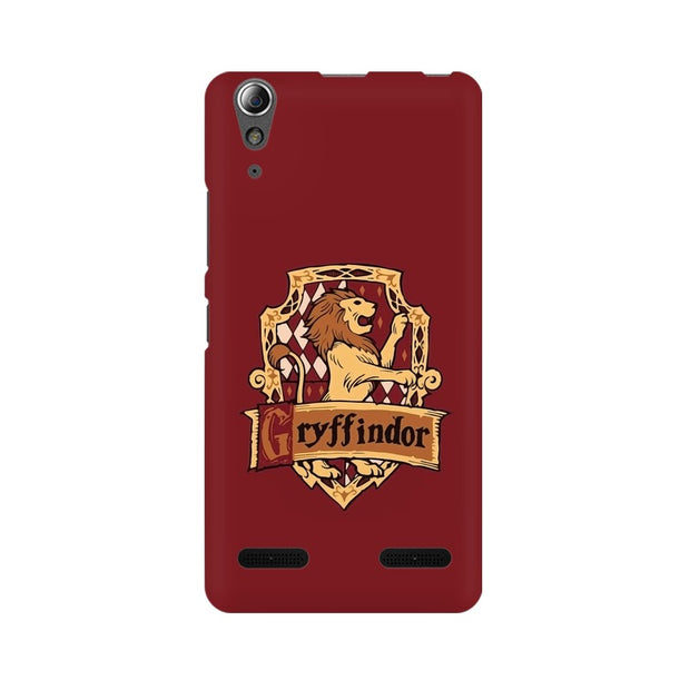 Lenovo A6000 Plus Gryffindor House Crest Harry Potter Phone Cover & Case